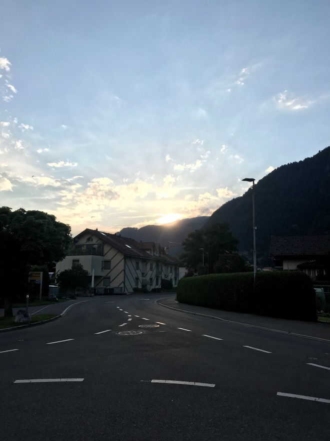 Interlaken Sunset